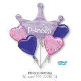 Princess Birthday Balloon Bouquet