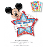 Mickey Mouse Personalized Birthday